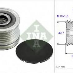 Sistem roata libera, generator MERCEDES-BENZ SPRINTER 3, 5-t platou / sasiu 313 CDI 4x4 - INA 535 0050 10 - Fulie