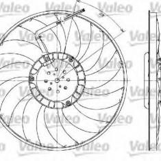 Ventilator, radiator AUDI A4 Avant 2.0 TDI - VALEO 698610 - Ventilatoare auto