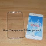 Husa silicon iphone 6 trasparenta - Husa Telefon, iPhone 6/6S, Transparent