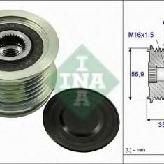 Sistem roata libera, generator VW PASSAT 1.8 TSI - INA 535 0041 10 - Fulie