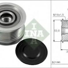 Sistem roata libera, generator CITROËN C-CROSSER 2.2 HDi - INA 535 0170 10 - Fulie