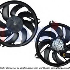Ventilator, radiator PEUGEOT 206 hatchback 1.1 i - AKS DASIS 168036N - Ventilatoare auto KLOKKERHOLM