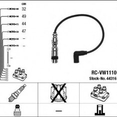 Set cablaj aprinder VW GOLF TOURAN 1.2 TSI - NGK 44316 - Instalatie electrica auto Valeo
