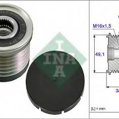 Sistem roata libera, generator RENAULT MEGANE CC 2.0 CVT - INA 535 0030 10 - Fulie