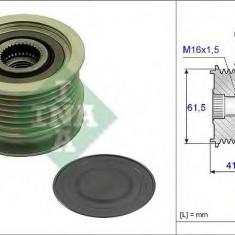 Sistem roata libera, generator OPEL ASTRA H Van 1.9 CDTI - INA 535 0234 10 - Fulie