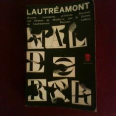 Isidore Ducasse Comte de Lautreamont Oeuvres completes - Carte de lux