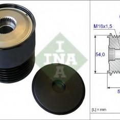 Sistem roata libera, generator FIAT PUNTO 1.3 D Multijet - INA 535 0212 10 - Fulie
