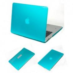 Husa protectie Macbook 11.6 Air Blue/Orange/Black