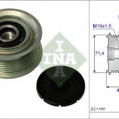 Sistem roata libera, generator MERCEDES-BENZ VARIO platou / sasiu 613 D, 614 D - INA 535 0055 10 - Fulie