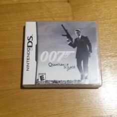 JOC NINTENDO DS 007 QUANTUM OF SOLACE ORIGINAL / STOC REAL / by DARK WADDER - Jocuri Nintendo DS Activision, Actiune, 16+, Single player