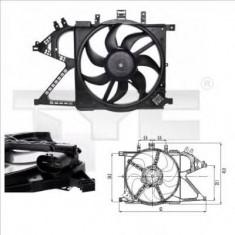 Ventilator, radiator OPEL VITA C 1.0 - TYC 825-0007 - Electroventilator auto