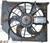 Ventilator, radiator BMW 3 limuzina 318 i - HELLA 8EW 351 038-391, PIERBURG