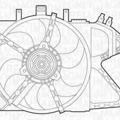 Ventilator, radiator OPEL VITA C 1.4 - MAGNETI MARELLI 069422331010 - Electroventilator auto