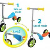Trotineta Copii 3 Roti Mv Scoot 2 In 1 Bicicleta Fara Pedale