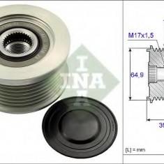 Sistem roata libera, generator NISSAN CAMIONES / FRONTIER 2.5 dCi 4WD - INA 535 0177 10 - Fulie