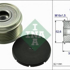 Sistem roata libera, generator PORSCHE 911 3.6 GT2 RS - INA 535 0025 10 - Fulie