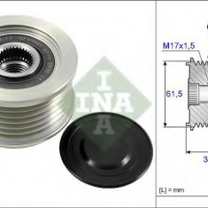 Sistem roata libera, generator ALFA ROMEO 145 1.9 TD - INA 535 0144 10 - Fulie