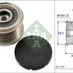 Sistem roata libera, generator CITROËN C4 II 1.6 HDi 90 - INA 535 0194 10 - Fulie