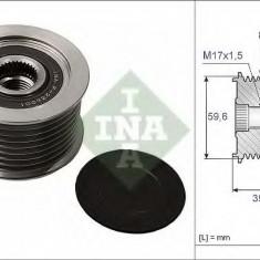 Sistem roata libera, generator MAZDA CX-7 2.2 MZR-CD AWD - INA 535 0049 10 - Fulie