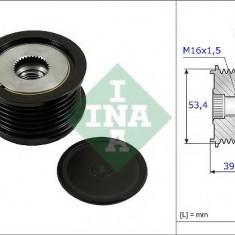 Sistem roata libera, generator FORD C-MAX II 1.6 TDCi - INA 535 0236 10 - Fulie
