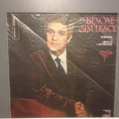 B.SINULESCU - ROMANTE SI CANTECE...(EPE02082/ELECTRECORD) - VINIL/Stare PERFECTA - Muzica Populara