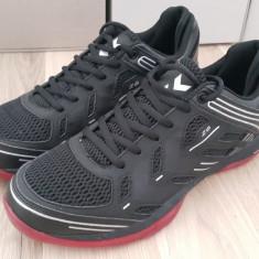 44.5_Adidasi originali sport barbati HUMMEL_running_handbal_negru - Adidasi barbati Hummel, Piele sintetica