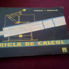 FLORIN BANCILA - RIGLA DE CALCUL - Carte Matematica