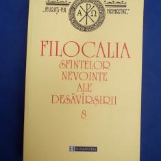 FILOCALIA SFINTELOR NEVOINTE [ VOL. 8 ] * TRADUCERE DUMITRU STANILOAE - 2002 - Carti ortodoxe