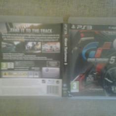 Gran Turismo 5 - PS3 [B, fm, cd] - Jocuri PS3, Curse auto-moto, 3+, Single player