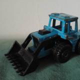 Macheta masinuta metal tractor escavator Tractor Shovel, Matchbox 1976, nr. 29 - Macheta auto Matchbox, 1:64
