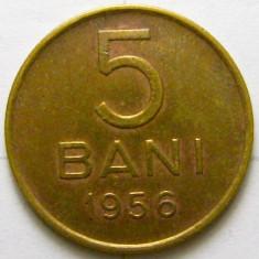 ROMANIA, 5 BANI 1956 * cod 84.4 foto