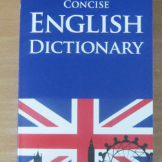 Concise English Dictionary (Dictionar englez-englez) Altele