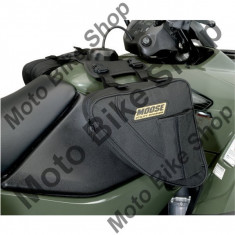 MBS Genti BigHorn laterale rezervor ATV, material textil impermeabil, cm 27Lx27lat.x9 inaltime, negru, Cod Produs: 35020159PE - Geanta rezervor Moto