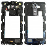 Rama carcasa mijloc LG G4 H815 negru SWAP