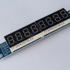 LCD Display 8 caractere MAX7219 Arduino