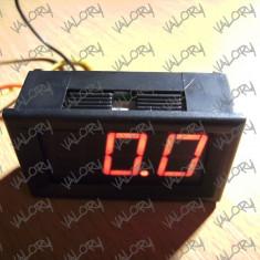 Voltmetru digital auto 12v 24v de panou NOU