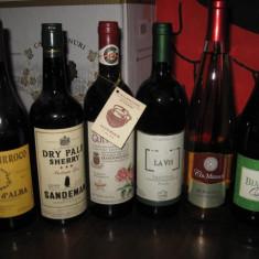 6 sticle vin -VECHI DE COLECTIE - LOTTO ( M ) - Vinde Colectie, Aroma: Sec, Sortiment: Rosu, Zona: Europa
