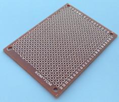 Placa test PCB 5 x 7 cm, (one side) prototip / prototype Arduino foto