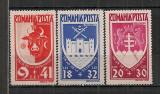 Romania.1942 Un an Bucovina  PR.15