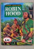 Carte de povesti pentru copii, in limba germana,Robin Hood, ilustratii deosebite