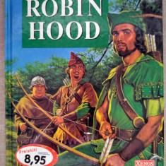 Carte de povesti pentru copii, in limba germana, Robin Hood, ilustratii deosebite