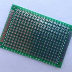 Placa test PCB 4 x 6 cm, prototip / prototype Arduino