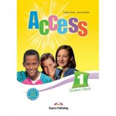 Curs limba engleză Access 1 Manualul elevului Express Publishing Virginia Evans