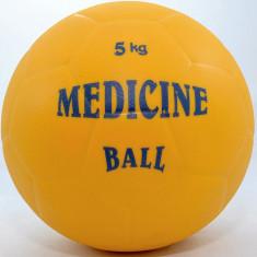 Minge medicinala din cauciuc 5 kg - umpluta cu lichid - Noua - Minge Fitness