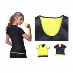 Tricou Neopren cu Efect de Sauna - Echipament Fitness