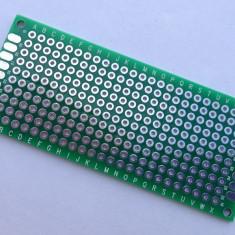 Placa PCB 3 x 7 cm, prototip / placa test / prototype Arduino