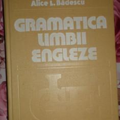 Gramatica limbii engleze an 1984/670pag- Alice Badescu - Curs Limba Engleza