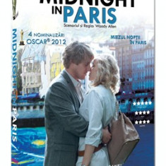 Miezul noptii in Paris (Midnight in Paris) Woody Allen - Film romantice, DVD, Romana