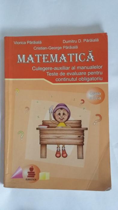 MATEMATICA CLASA A VI A CULEGERE AUXILIAR TESTE DE EVALUARE PARAIALA