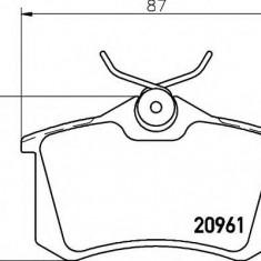 Placute frana ATE SEAT LEON 1.6 TDI - HELLA 8DB 355 018-111
